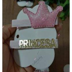 Par hair clips Princesa