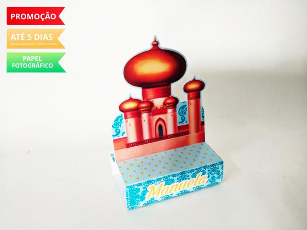 Porta bis duplo Aladdin-Porta bis duplo Aladdin Fazemos em qualquer tema. Envie nome e idade para personalização.  - P