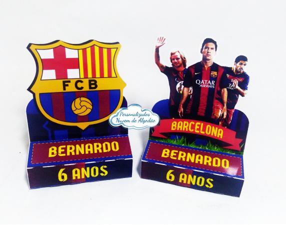 Porta bis duplo Barcelona-Porta bis duplo Barcelona Fazemos em qualquer tema. Envie nome e idade para personalização.  -