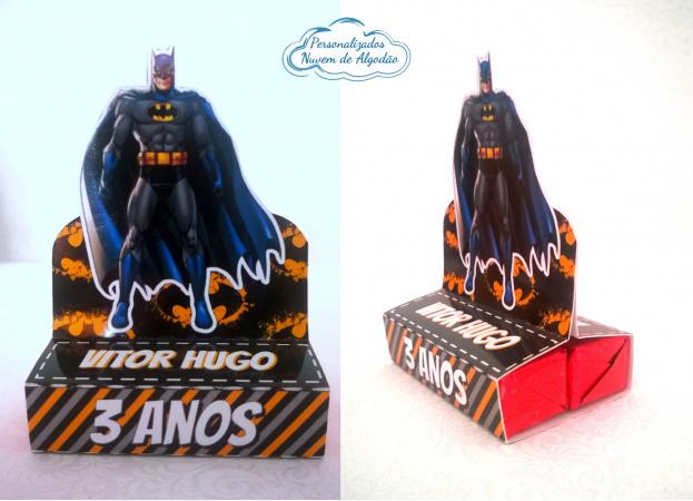 Porta bis duplo Batman-Porta bis duplo Batman Fazemos em qualquer tema. Envie nome e idade para personalização.  - Pr