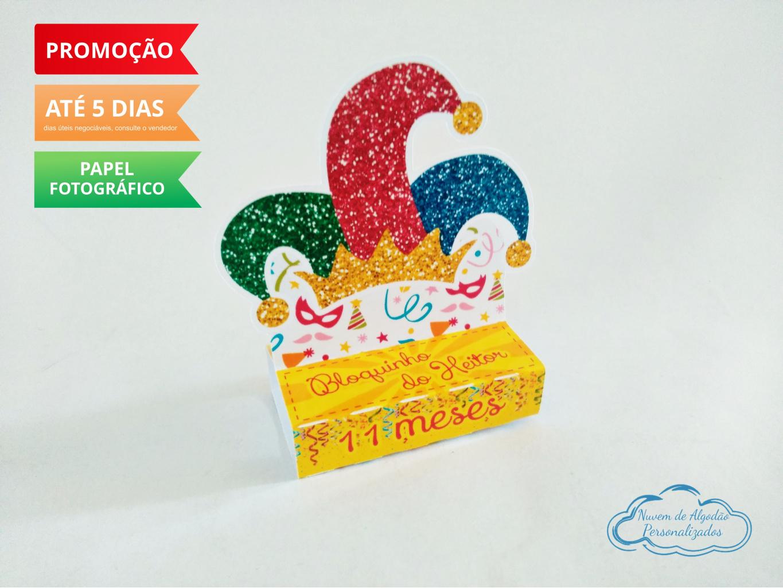 Nuvem de algodão personalizados - Porta bis duplo Carnaval