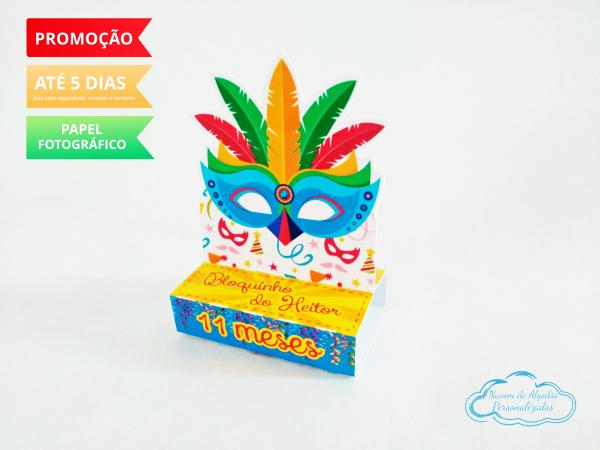 Porta bis duplo Carnaval-Porta bis duplo Carnaval Fazemos em qualquer tema. Envie nome e idade para personalização.  -
