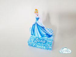 Porta bis duplo Cinderela - Princesa