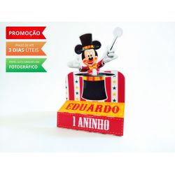Porta bis duplo Circo do Mickey