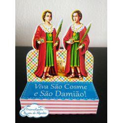 Porta bis duplo Cosme e Damião