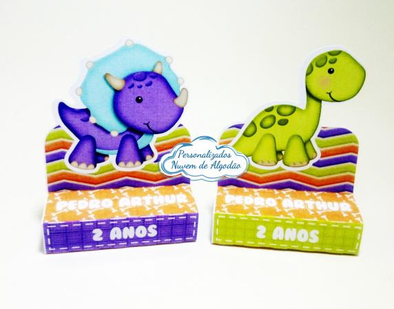 Porta bis duplo Dinossauro-Porta bis duplo Dinossauro Fazemos em qualquer tema. Envie nome e idade para personalização.