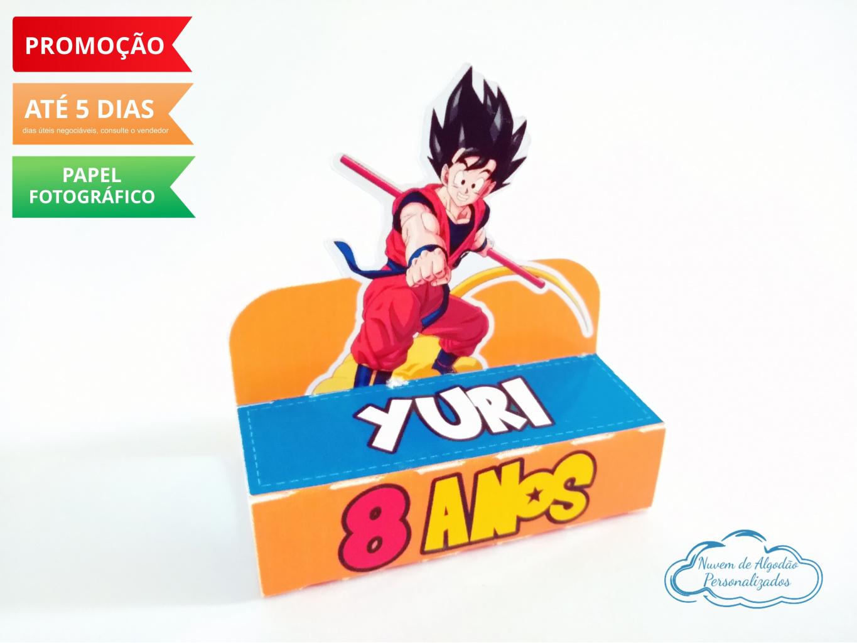 Nuvem de algodão personalizados - Porta bis duplo Dragon Ball