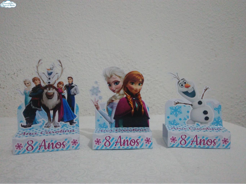 Nuvem de algodão personalizados - Porta bis duplo Frozen