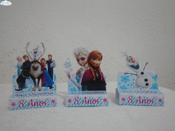 Porta bis duplo Frozen-Porta bis duplo Frozen Fazemos em qualquer tema. Envie nome e idade para personalização.  - Pr