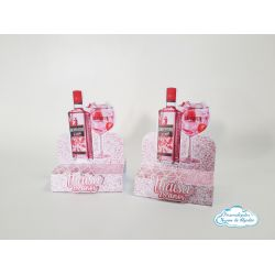 Porta bis duplo Gin Rosa
