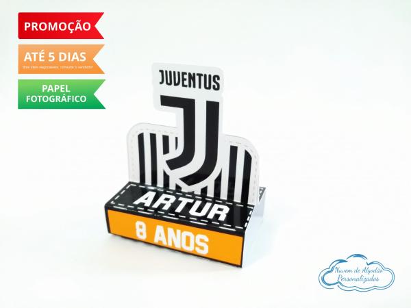Porta bis duplo Juventus-Porta bis duplo Juventus Fazemos em qualquer tema. Envie nome e idade para personalização.  -