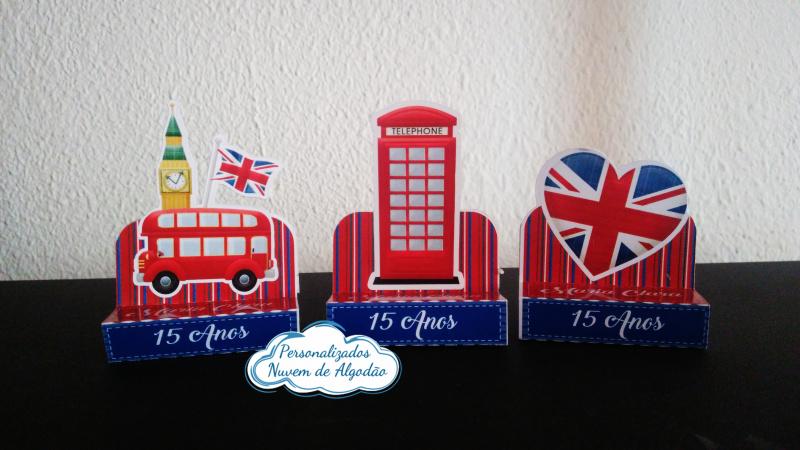 Porta bis duplo Londres-Porta bis duplo Londres Fazemos em qualquer tema. Envie nome e idade para personalização.  - P