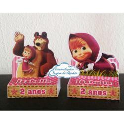 Porta bis duplo Masha e o Urso