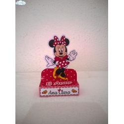 Porta bis duplo Minnie Vermelha
