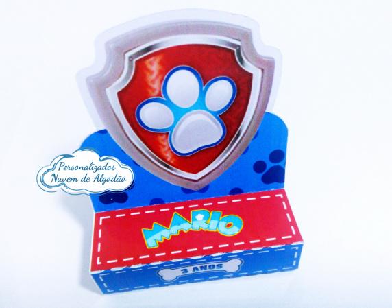 Porta bis duplo Patrulha Canina-Porta bis duplo Patrulha Canina Fazemos em qualquer tema. Envie nome e idade para personalização