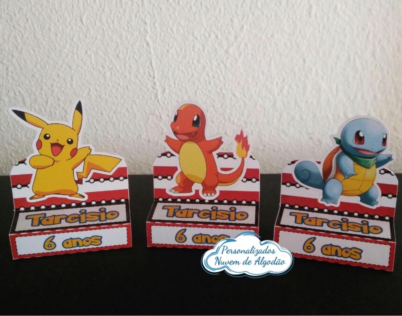 Nuvem de algodão personalizados - Porta bis duplo Pokemon