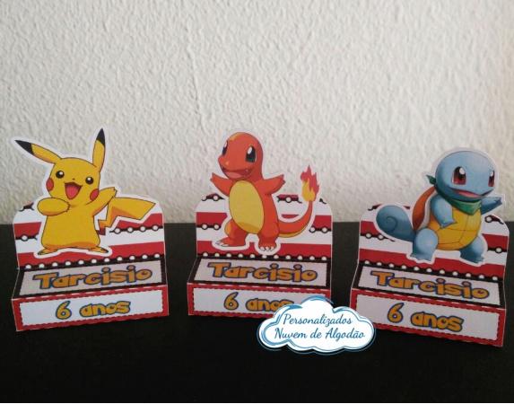Porta bis duplo Pokemon-Porta bis duplo Pokemon Fazemos em qualquer tema. Envie nome e idade para personalização.  - P