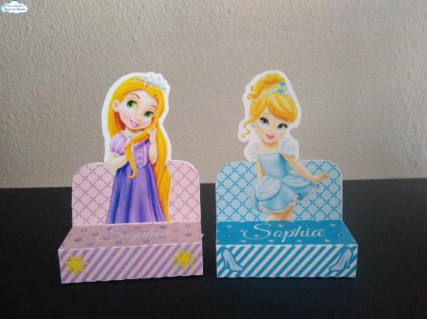 Porta bis duplo Princesa Baby-Porta bis duplo Princesa Baby Fazemos em qualquer tema. Envie nome e idade para personalização.
