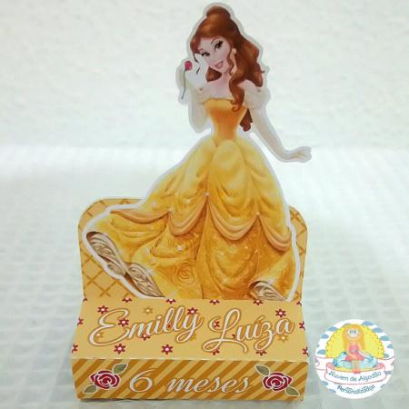 Porta bis duplo Princesa Bela-Porta bis duplo Princesa Bela Fazemos em qualquer tema. Envie nome e idade para personalização.