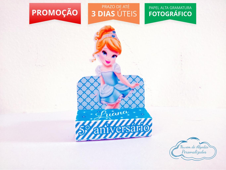 Nuvem de algodão personalizados - Porta bis duplo Princesa Cinderela Baby