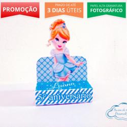 Porta bis duplo Princesa Cinderela Baby