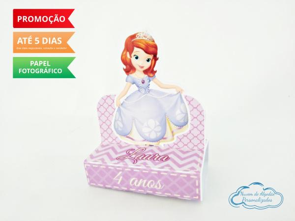 Porta bis duplo Princesa Sofia-Porta bis duplo Princesa Sofia Fazemos em qualquer tema. Envie nome e idade para personalização.