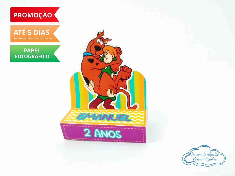 Nuvem de algodão personalizados - Porta bis duplo Scooby doo