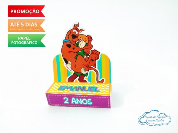 Porta bis duplo Scooby doo-Porta bis duplo Scooby doo Fazemos em qualquer tema. Envie nome e idade para personalização.