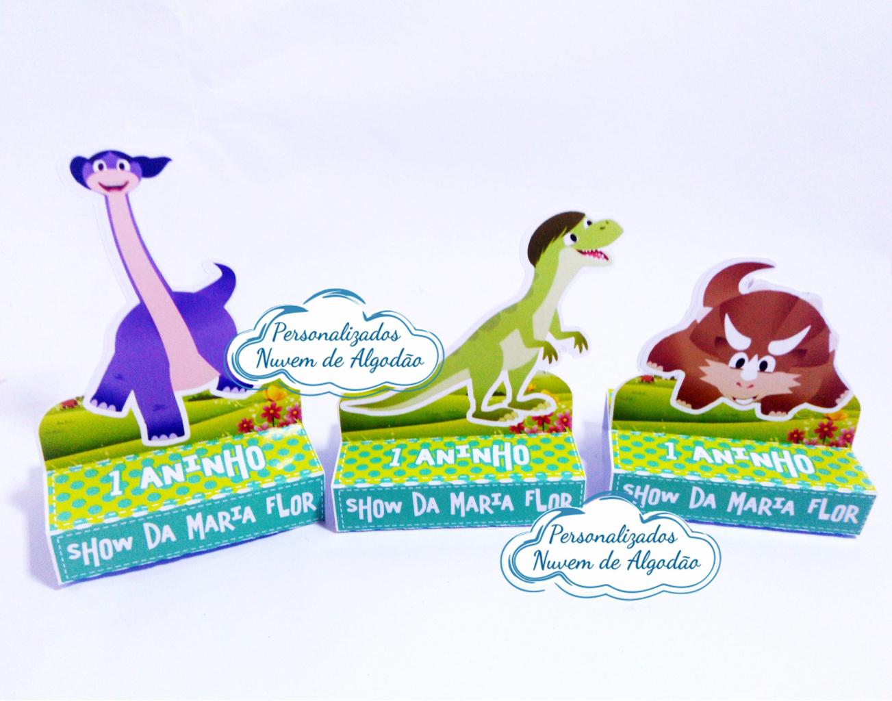 Nuvem de algodão personalizados - Porta bis duplo Show da luna Dinossauros