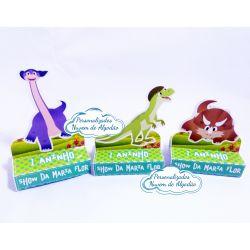 Porta bis duplo Show da luna Dinossauros