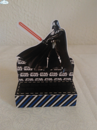 Porta bis duplo Star Wars-Porta bis duplo Star Wars Fazemos em qualquer tema. Envie nome e idade para personalização.  -