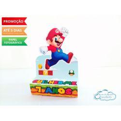 Porta bis duplo Super Mario