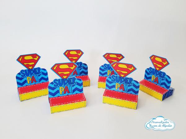 Porta bis duplo Super Pai-Porta bis duplo Super Pai Fazemos em qualquer tema. Envie nome e idade para personalização.  -