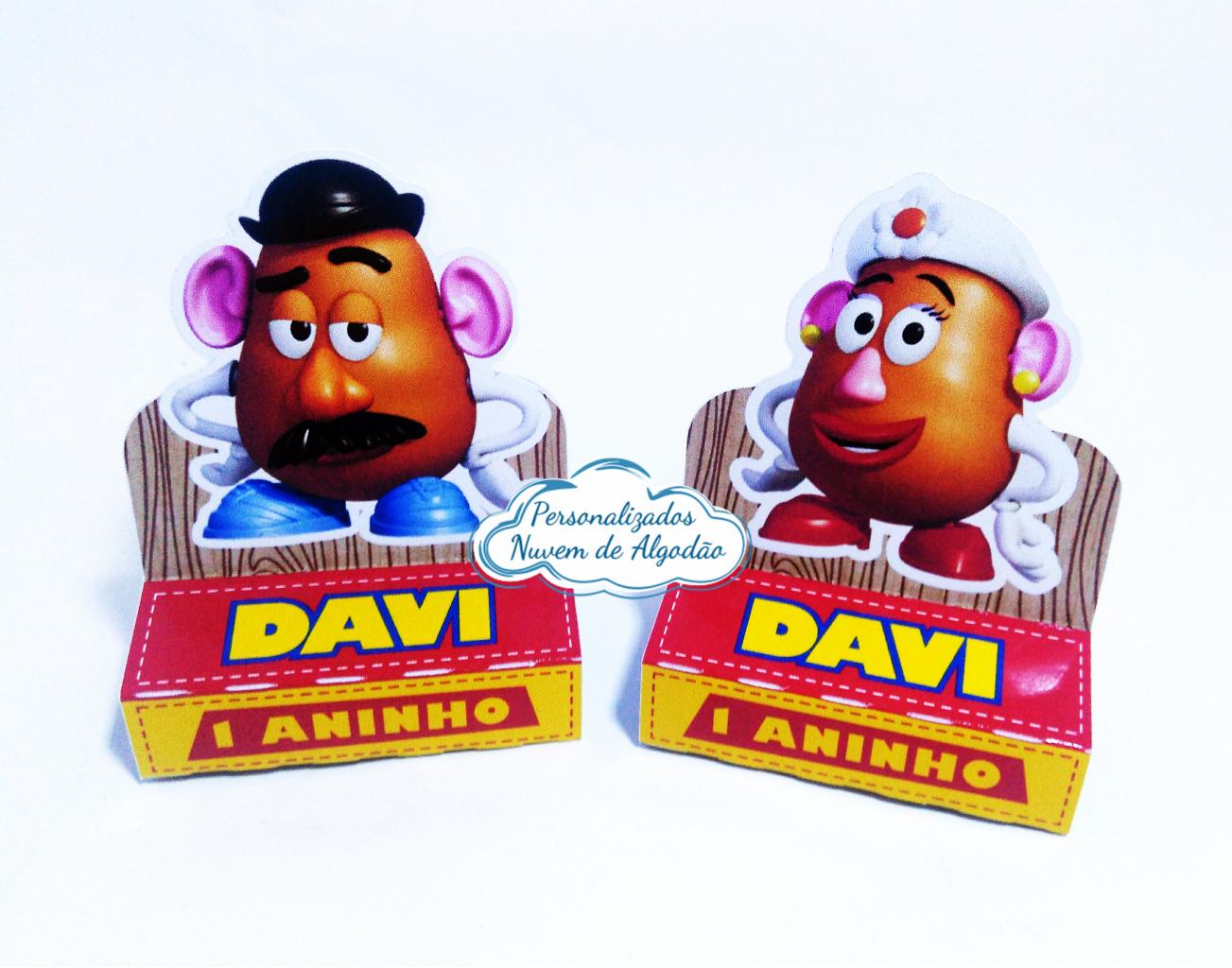 Nuvem de algodão personalizados - Porta bis duplo Toy Story