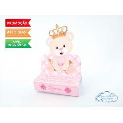 Porta bis duplo Ursinha princesa