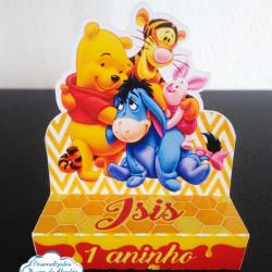 Porta bis duplo Ursinho Pooh