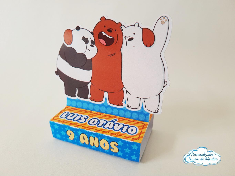 Nuvem de algodão personalizados - Porta bis duplo Urso sem curso