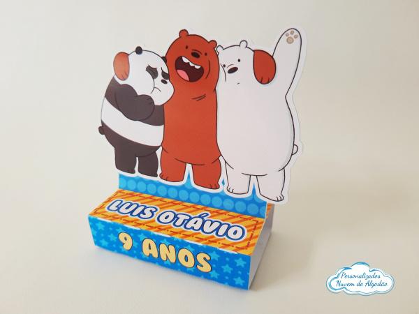 Porta bis duplo Urso sem curso-Porta bis duplo Urso sem curso Fazemos em qualquer tema. Envie nome e idade para personalização.