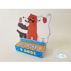 Porta bis duplo Urso sem curso