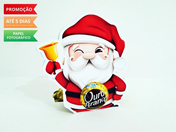 Porta bombom Natal - Papai Noel-Porta bombom Natal - Papai Noel  Fazemos todos os temas  Na hora do seu pedido informe os dados