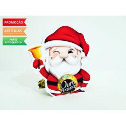 Porta bombom Natal - Papai Noel