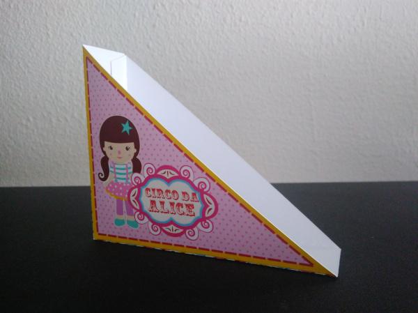Porta guardanapo Circo Rosa-Porta guardanapo Circo Rosa  Fazemos todos os temas e cores.  Na hora do seu pedido informe os d