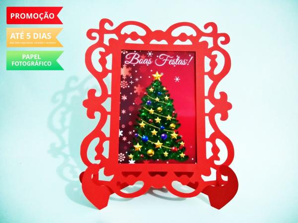 Porta Retrato Natal -  Árvore-Porta Retrato Natal -  Árvore  Fazemos todos os temas e cores.  Na hora do seu pedido informe o