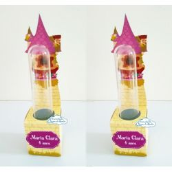 Porta tubete Enrolados - Rapunzel