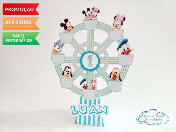 Roda gigante Disney Baby-Roda gigante Disney Baby Fazemos em qualquer tema. Envie nome e idade para personalização.  -