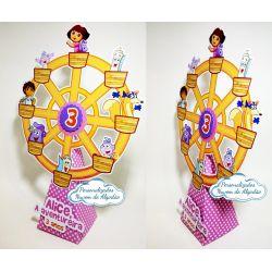 Roda gigante Dora aventureira
