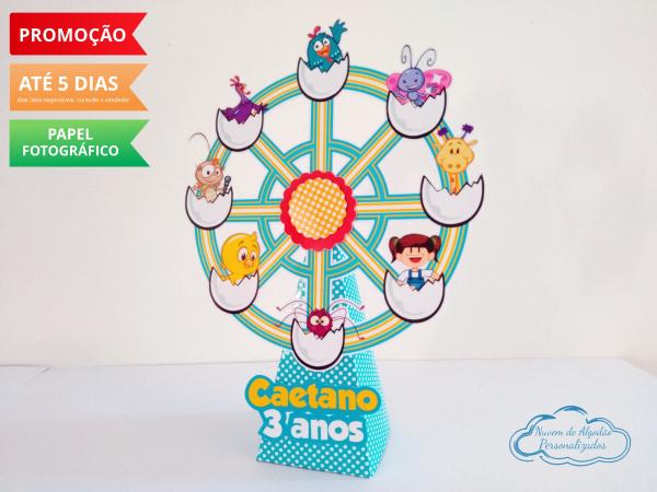 Roda gigante Galinha Pintadinha-Roda gigante Galinha Pintadinha Fazemos em qualquer tema. Envie nome e idade para personalização