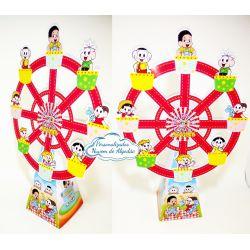 Roda gigante Turma da Mônica