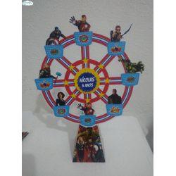 Roda gigante Vingadores