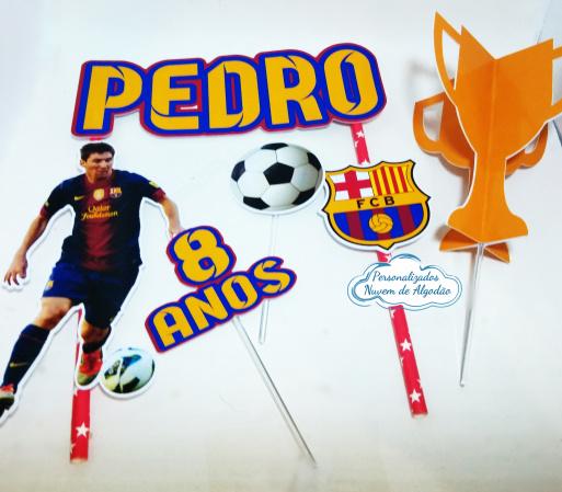 Topo de bolo Barcelona-Topo de bolo Barcelona  - Papel fotográfico glossy 230g - Acompanham os palitos